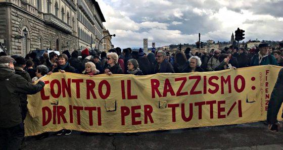 Antirazzismo: il 27 giugno la manifestazione pubblica di Firenze