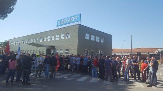 Bekaert: l'azienda rifiuta di prorogare la cassa integrazione