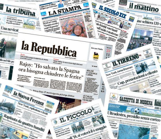 Suicidio in  nel centro stampa, sciopero testate locali Gedi