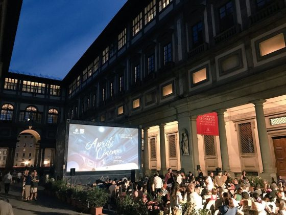 Torna 'Apriti Cinema', film sotto le stelle nel piazzale degli Uffizi