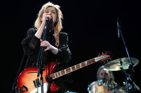 In 1500 musicisti al Franchi con Courtney Love
