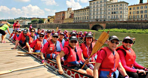 Dragon Boat, oggi Pink Parade Opening Ceremony
