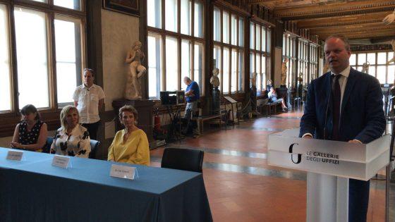 Uffizi, inaugurata nuova Sala di Leonardo
