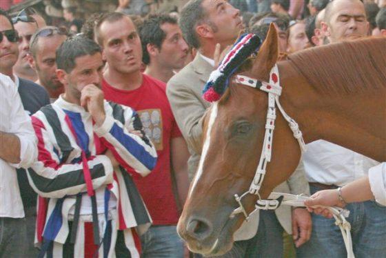 Palio Siena: modifica a circolare Gabrielli, contradaioli potranno stare vicino ai cavalli