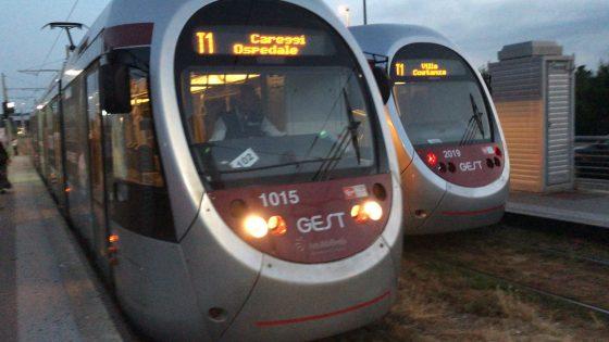 Partita all'alba la linea T1 Leonardo della tramvia di Firenze