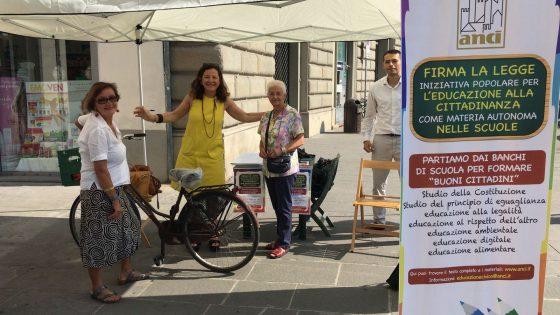 Da Firenze parte la raccolta firme su pdl educazione cittadinanza