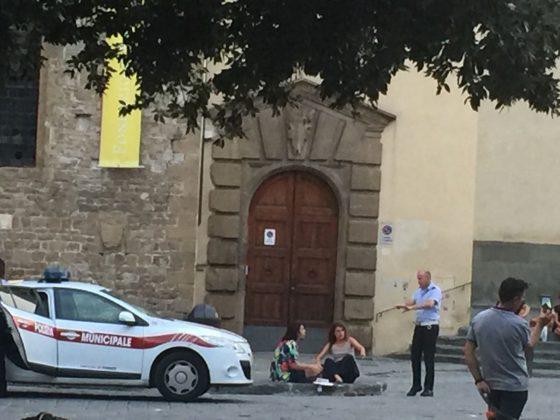 Prime multe dopo ordinanza piazze vivibili a Firenze