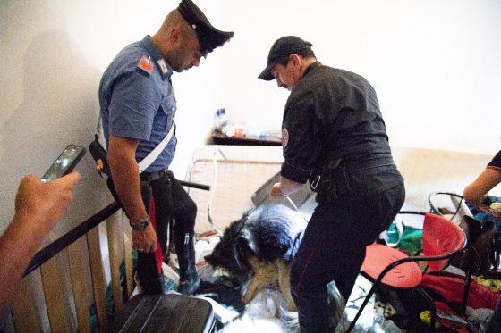 Vinci: carabinieri arrestano tutti gli ospiti di un centro di accoglienza