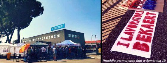 Bekaert: Ferragosto, a presidio anche sindaco Nardella