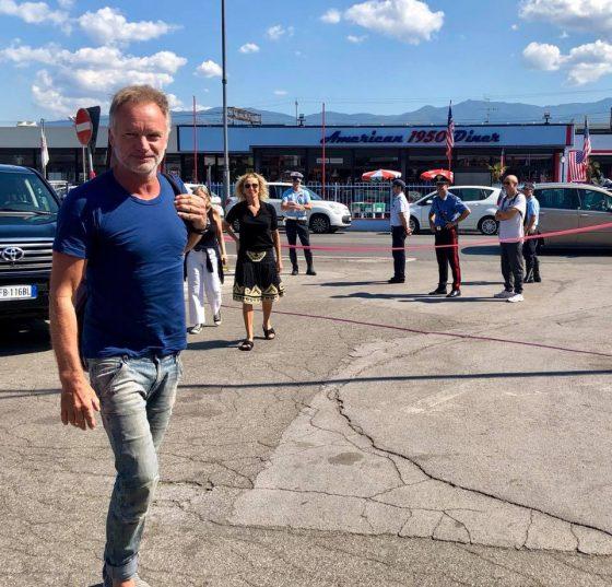 Sting porta solidarietà a operai Bekaert