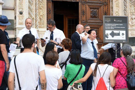 Cupola Brunelleschi: controlli selettivi, irregolarità tra biglietti e prenotazioni