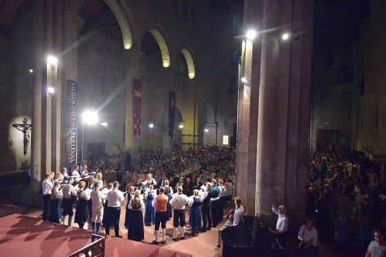 Arezzo: Guidoneum Festival con concerti, i seminari, e gli incontri dedicati al canto.