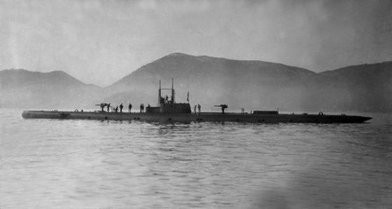 Ritrovato a Capraia il sommergibile Guglielmotti, affondato un secolo fa