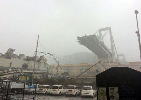 Crollo ponte Genova: inviati soccorsi dalla Toscana