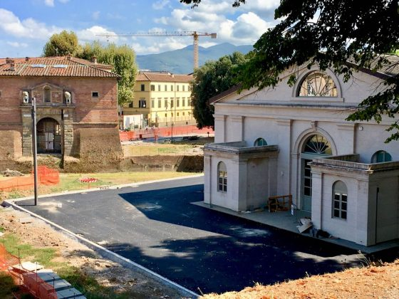Lucca, ex Cavallerizza: in corso gli interventi di sistemazione esterna