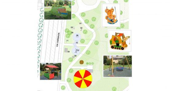 Il parco delle Montagnole a Pontassieve diventa un giardino inclusivo