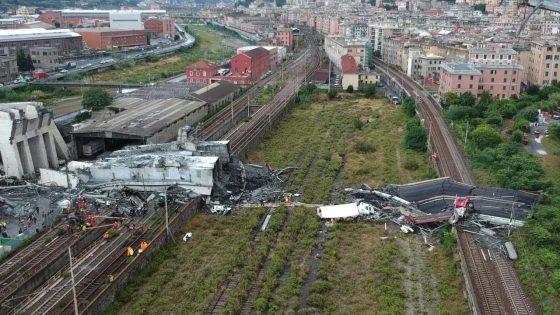 """Crollo Genova, prof.Borri: """"il problema riguarda tutta l'Europa"""""""