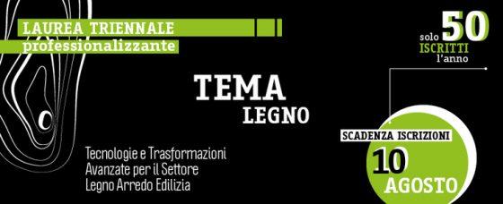 Università di Firenze: nuova laurea per professionisti del legno arredo