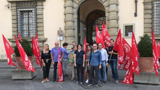 Firenze: sciopero lavoratori filiale fiorentina Multiservice