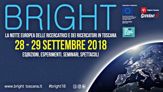 'Bright 2018', l'appuntamento con la ricerca in Toscana
