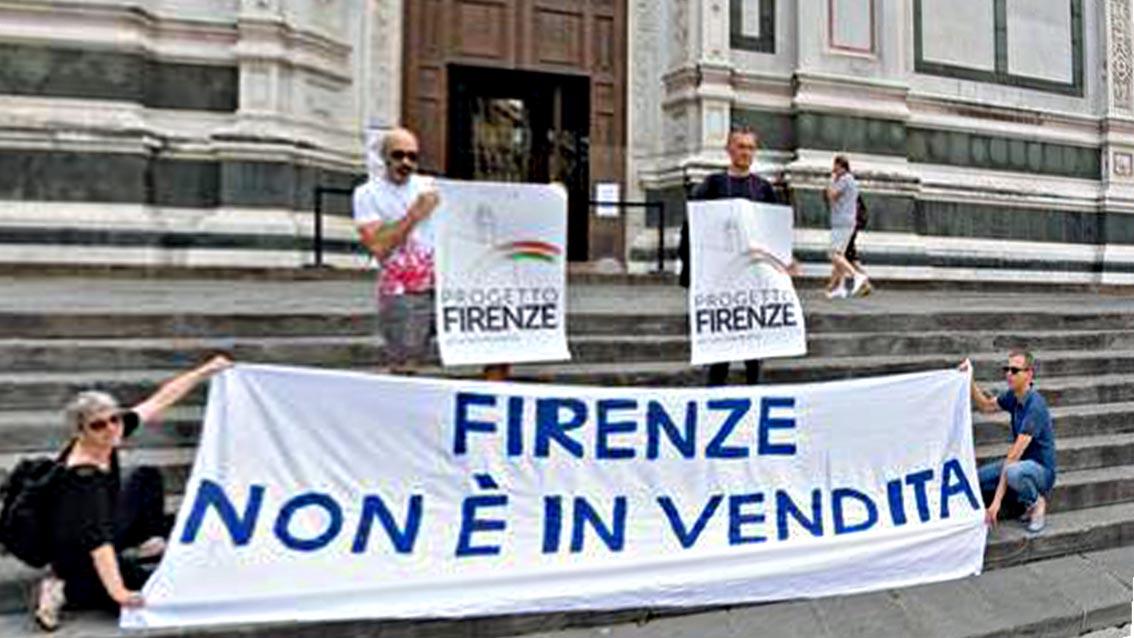 Firenze non è in vendita
