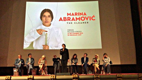 'Marina Abramović – The Cleaner'