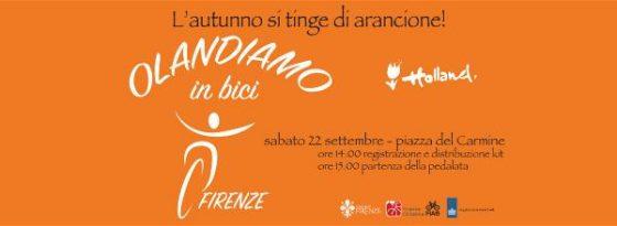Città ciclabile: sabato a Firenze 'Olandiamo in bici'