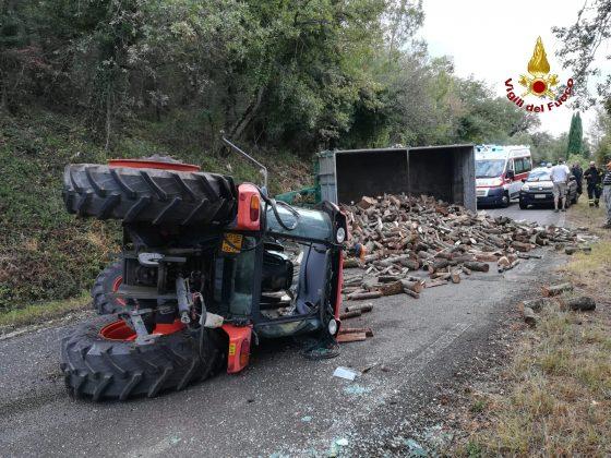 Grosseto: trattore ribaltato, morto conducente