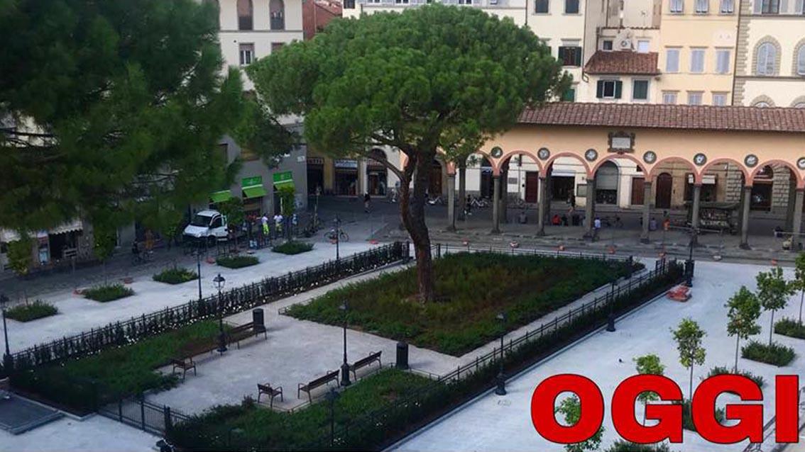 Inaugurata piazza dei ciompi 39 riqualificata 39 www for Piazza dei ciompi
