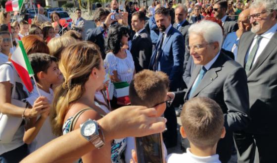 Isola d'Elba: apertura anno scolastico con Mattarella e Bussetti