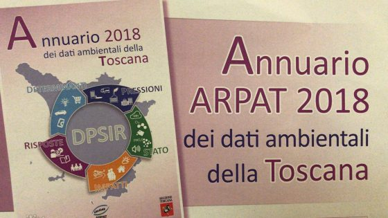 Arpat: l'ambiente in Toscana nel 2017