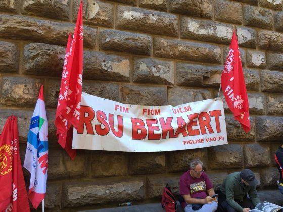 Bekaert: salvi tutti i posti di lavoro dello stabilimento di Figline