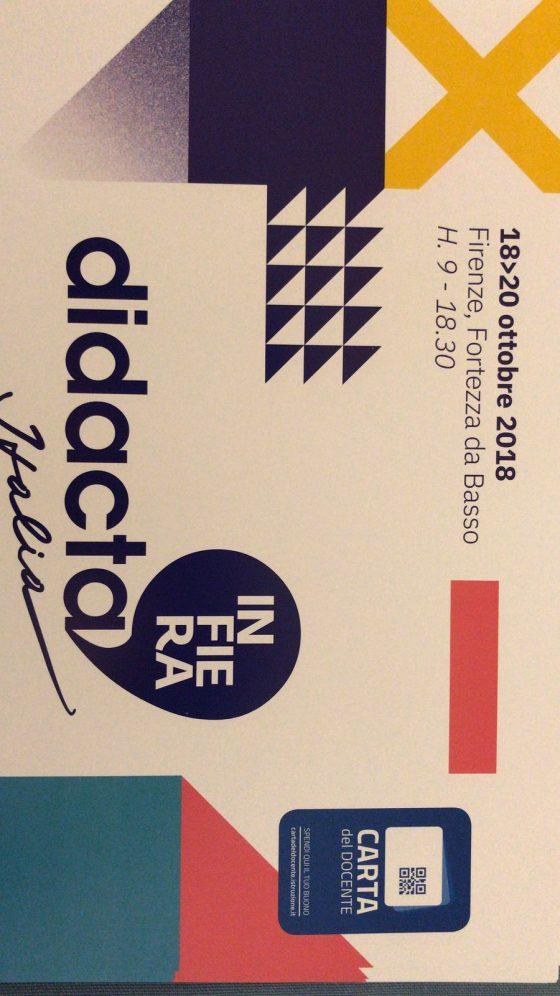Didacta: 5 settembre seconda edizione a Firenze