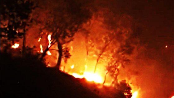 Incendio Monte Serra, ampliata zona evacuazione