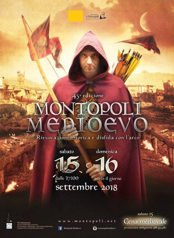 Montopoli Medioevo: torna la festa medievale nel cuore della Toscana