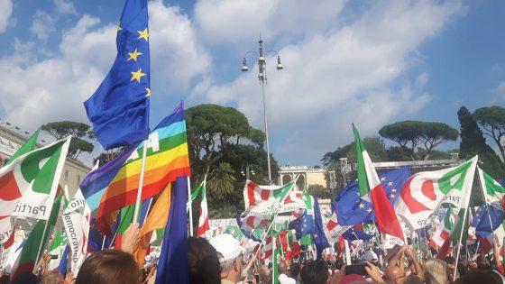 """Nardella su piazza del Popolo: """"Partito più vivo che mai"""""""