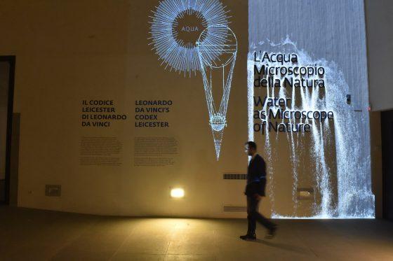 """Uffizi: """"L'acqua microscopio della natura. Il codice Leicester di Leonardo Da Vinci"""""""