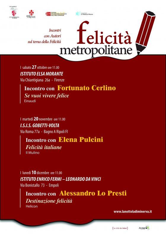 """Firenze, """"Felicità metropolitane"""": incontri e reading con autori sul tema della felicità"""
