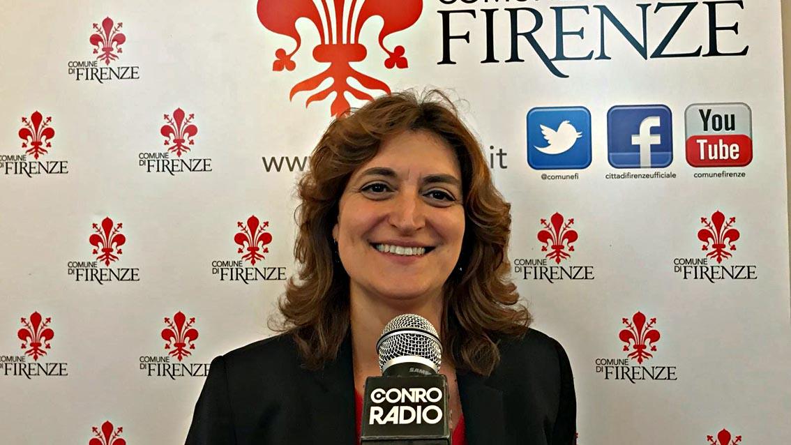 L'assessora all'ambiente Alessia Bettini presenta l'accordo per la gestione di giardini e aree verdi