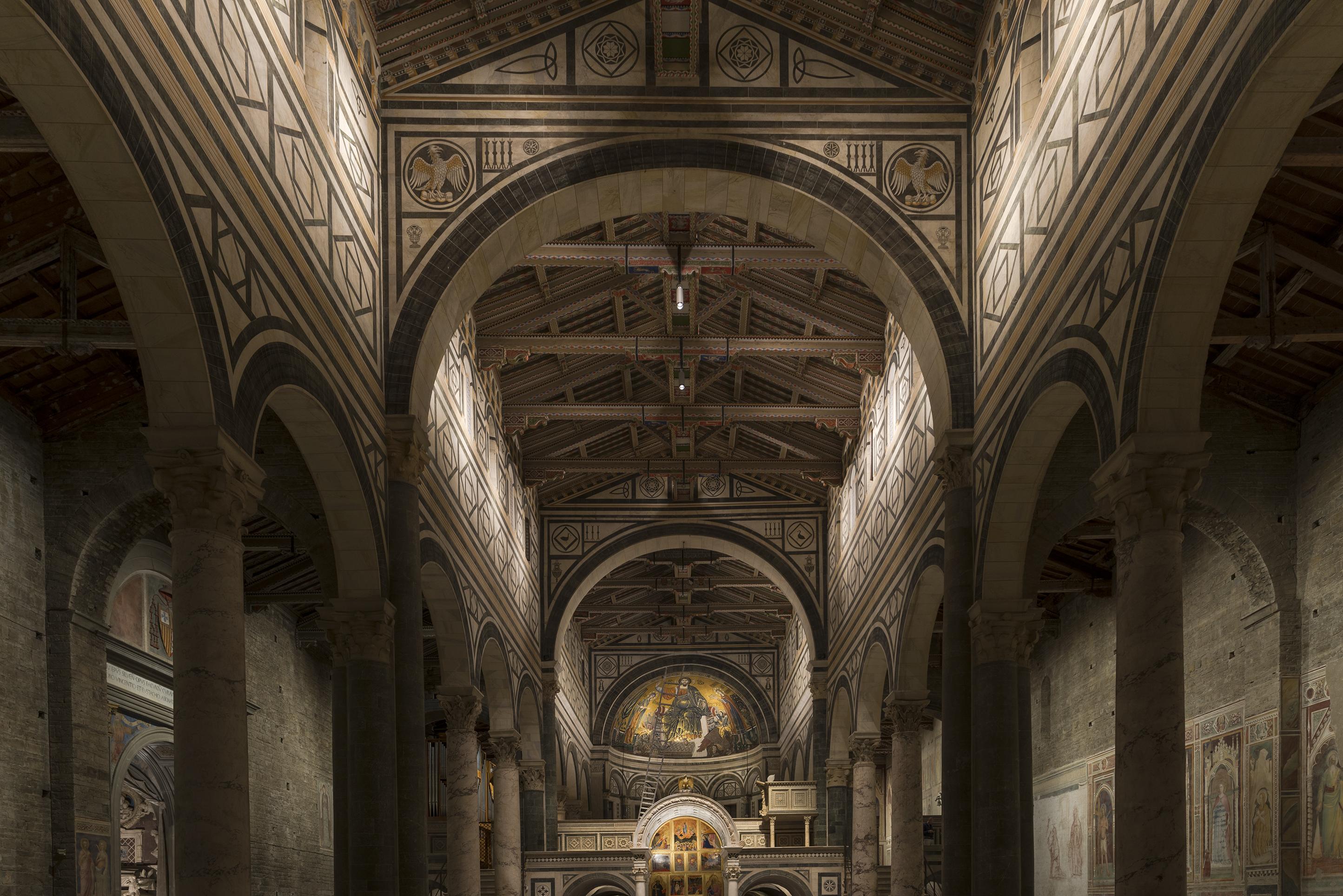 Millenario san miniato: una nuova illuminazione per la basilica