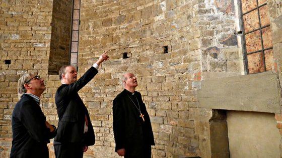Arcivescovo Vienna, Christoph Schönborn, visita Firenze