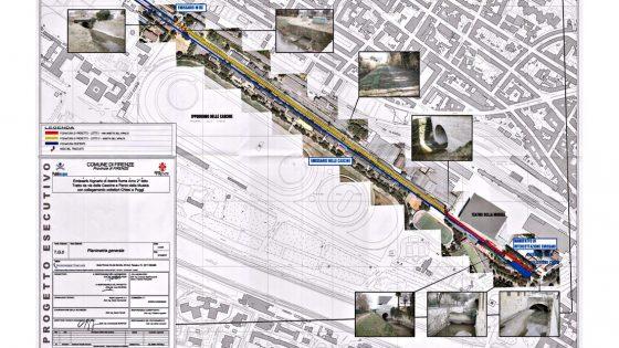 Al via completamento emissario riva destra Arno