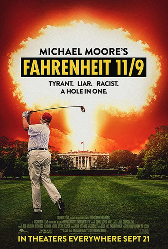 Al cinema Odeon di Firenze arriva Fahrenheit 9/11 di Michael Moore.
