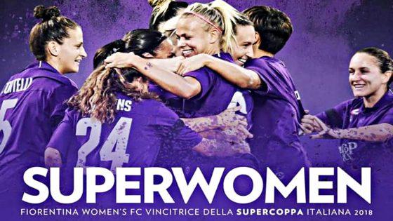Fiorentina Women's vince Supercoppa battendo Juve