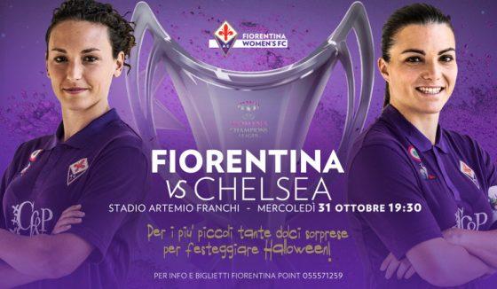 Champions League Femminile: tutti al Franchi!