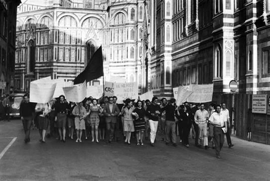 Il Sessantotto a Firenze. I luoghi l'arte e la comunicazione della protesta