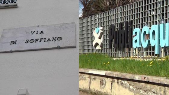 Via di Soffiano: proseguono lavori a tubazione, ancora disagi