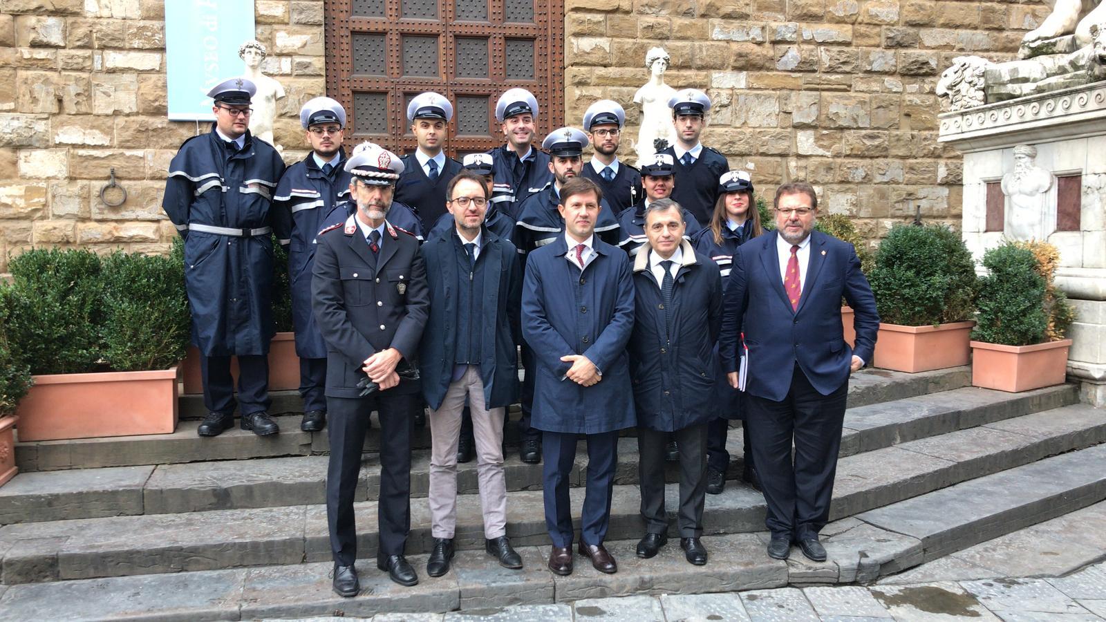 agenti di Polizia Municipale
