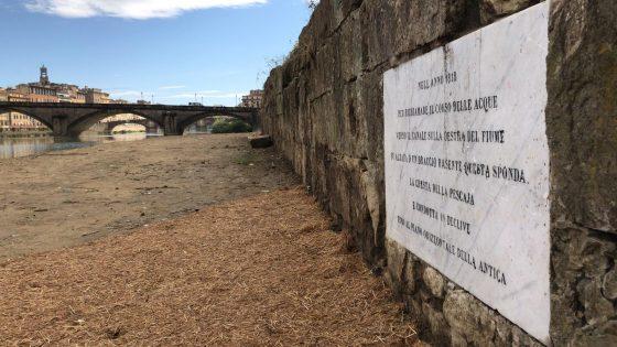 Firenze: restaurata targa 1818 a Pescaia Santa Rosa