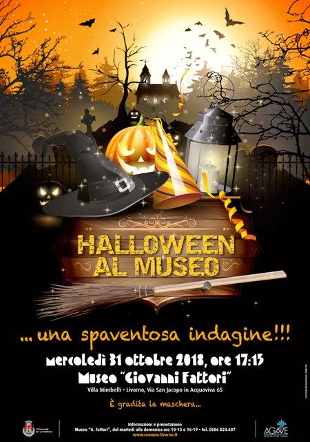 Mercoledì 31 ottobre Halloween ai musei: visite guidate, indovinelli ed ingressi ridotti